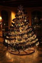 Alcohol Christmas Tree